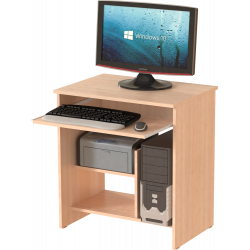 Стол компьютерный СК-01, дуб молочный