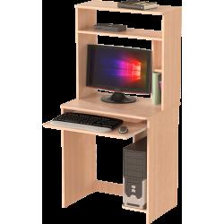 Стол компьютерный СК-02, дуб молочный