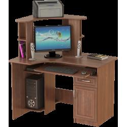 Стол компьютерный СК-10, орех