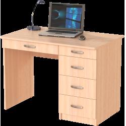 Стол письменный СП-03.1, дуб молочный
