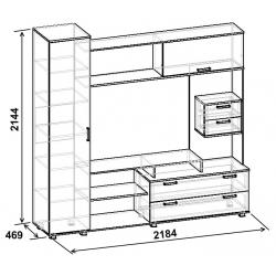 Тумба ТВА-20.1 (схема)