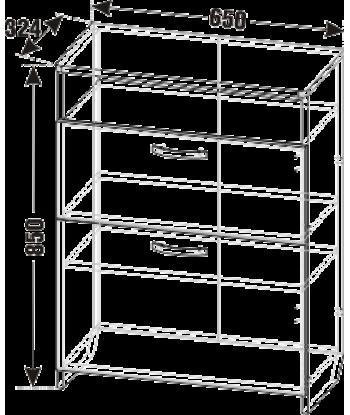 Тумба обувная ТО-02 (схема)