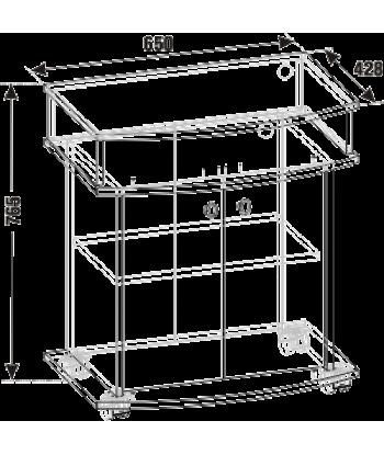 Тумба ТВА-04 (схема)