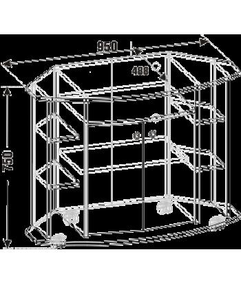 Тумба ТВА-07 (схема)