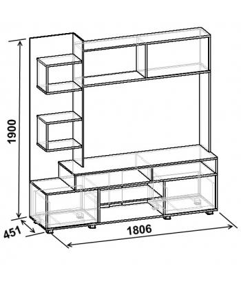 Тумба ТВА-11 (схема)