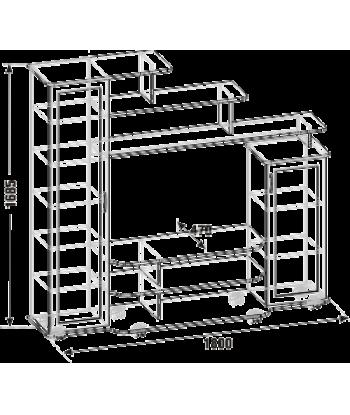 Тумба ТВА-19.1 п.с. (схема)
