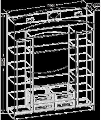 Тумба ТВА-28 (схема)